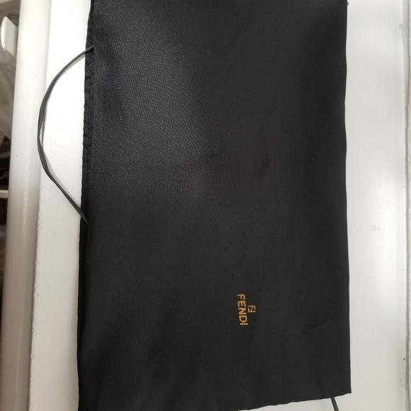 Authentic fendi dustbag